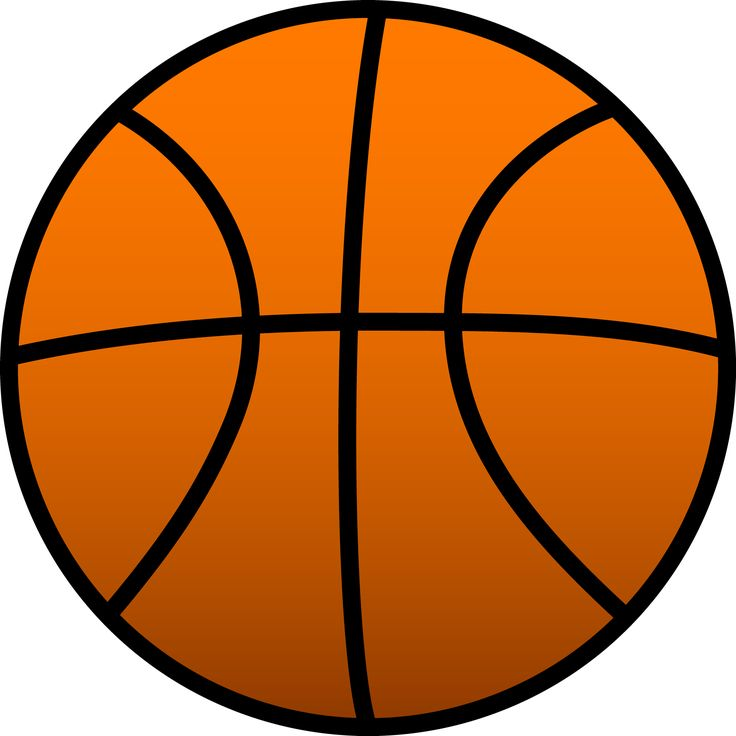best basketball images. Ball clipart simple