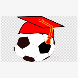 Soccer red henna design. Ball clipart simple