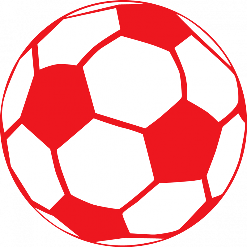 Clipart shield soccer. Red ball