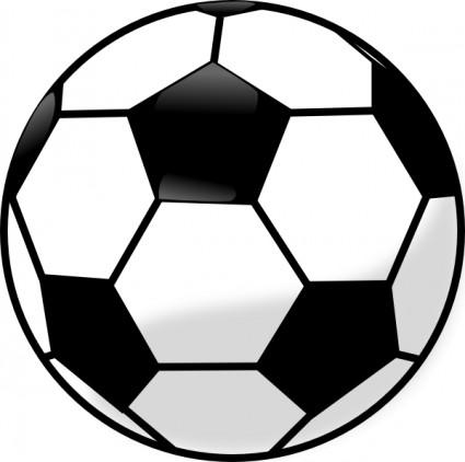 Soccer ball clip art. Balls clipart vector