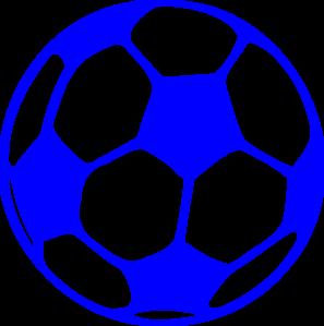 Ball clipart soccor. Blue soccer
