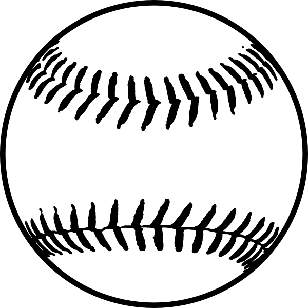 Free download images clipartix. Stitch clipart softball