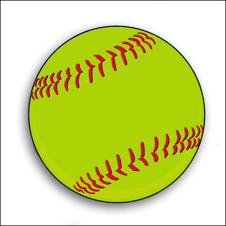 Clip art logo free. Balls clipart softball