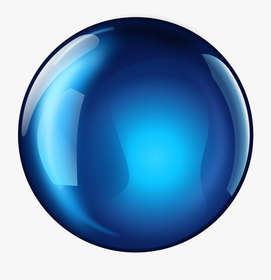 Ball clip art sphere. Crystal clipart blue crystal