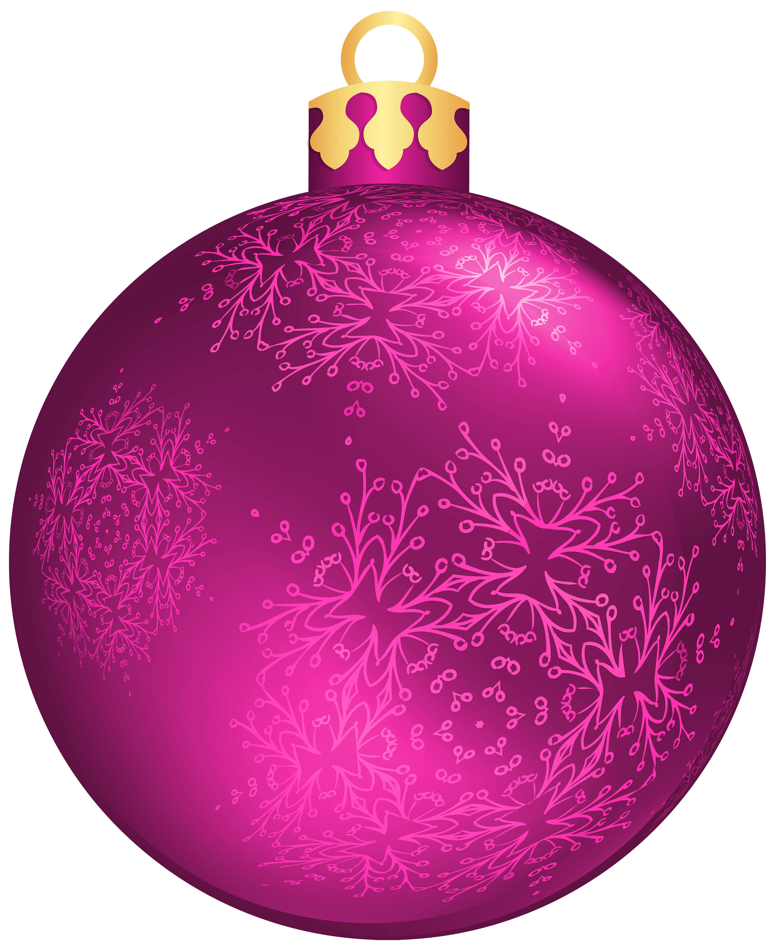Pink christmas ball png. Purple clipart ornament