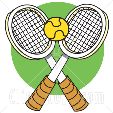 Tennis ball and clip. Balls clipart squash racket