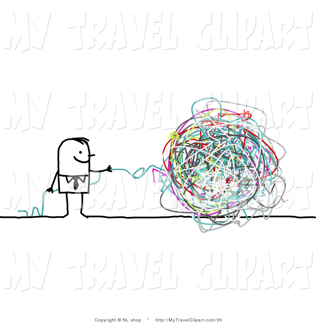 Ball clipart string. Of a stick person