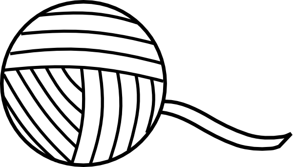 Yarn panda free images. Ball clipart string