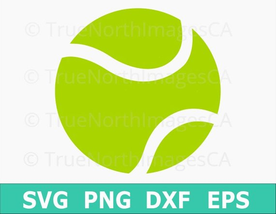 Ball clipart tennis ball. Vector svg files for