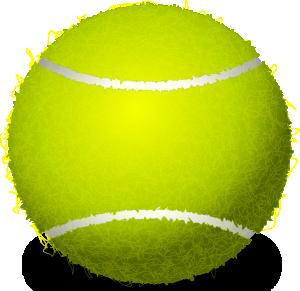 Clip art at clker. Ball clipart tennis ball