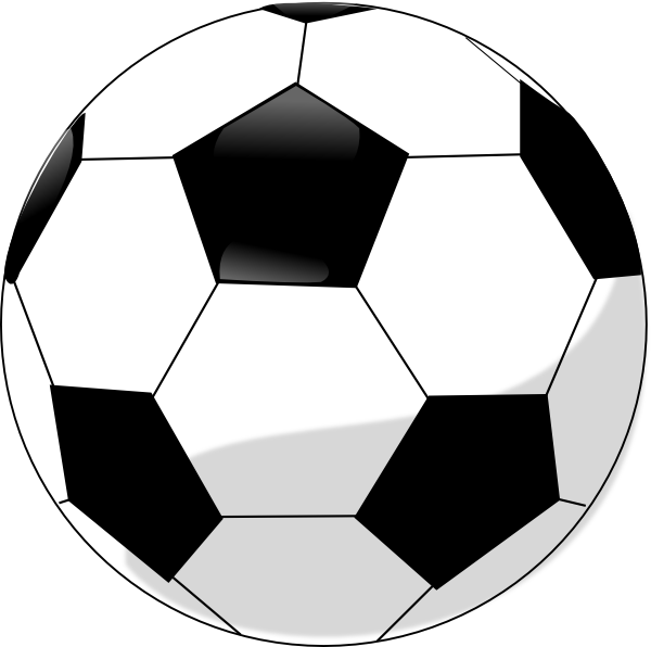 Free ball vector download. Raffle clipart soccer