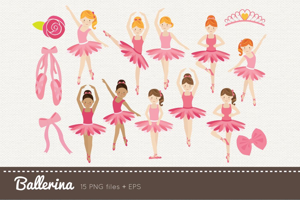 . Ballerina clipart