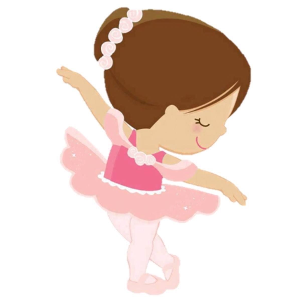Ballerina clipart. Baby station