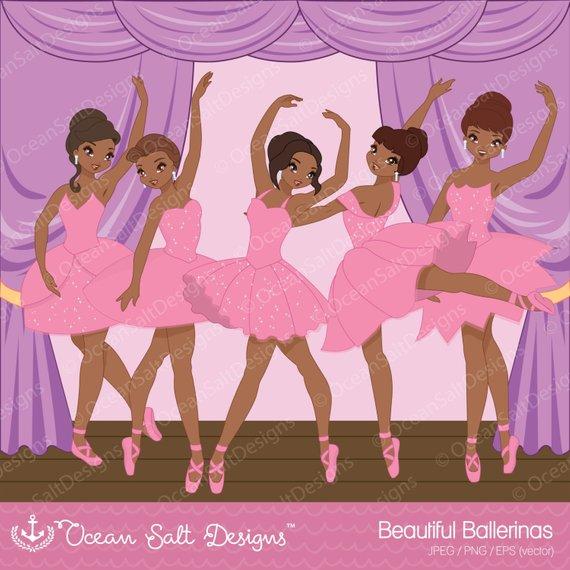 Ballet clip art party. Ballerina clipart african american ballerina