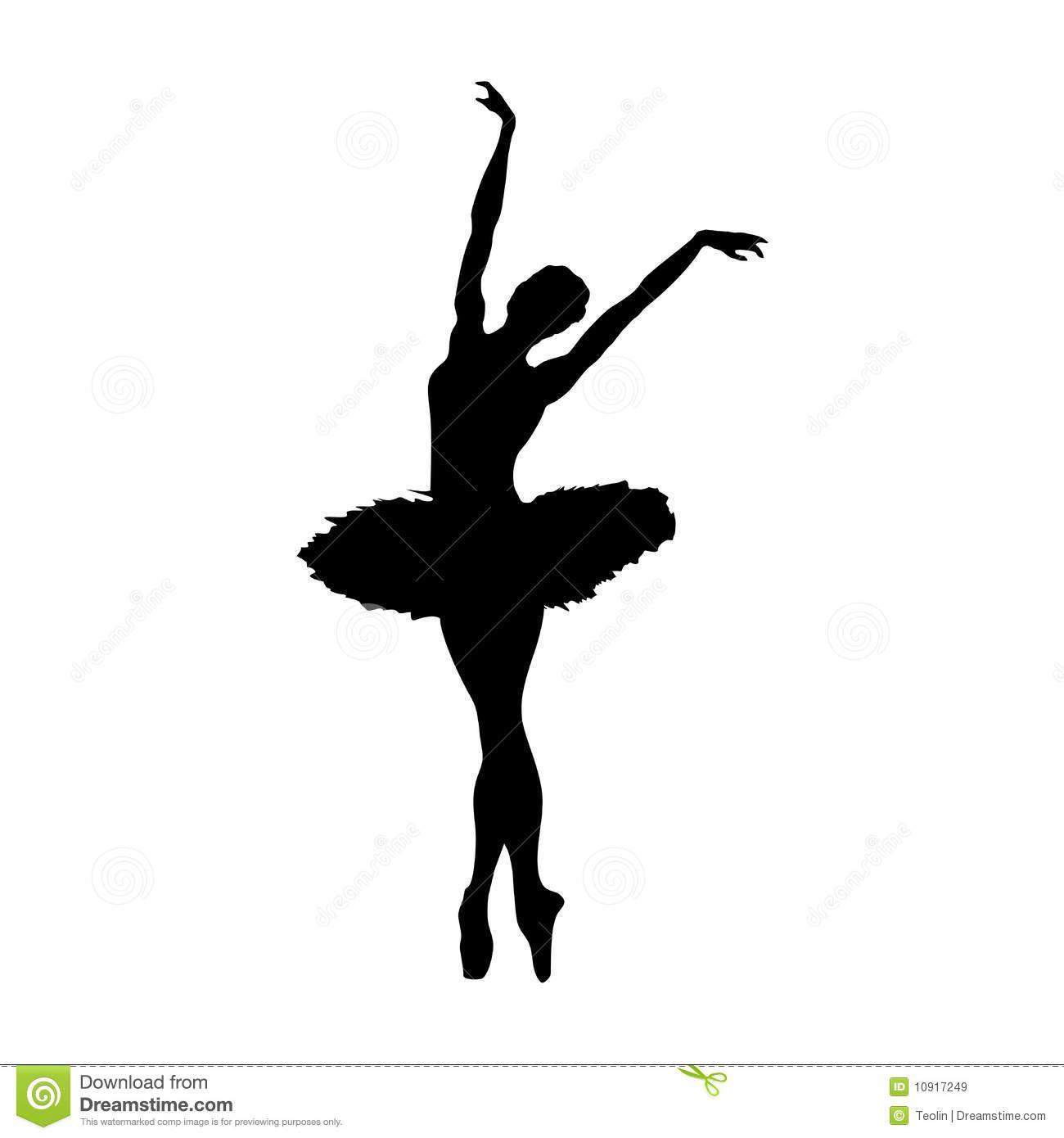 Ballerina clipart arabesque. Image result for silhouette