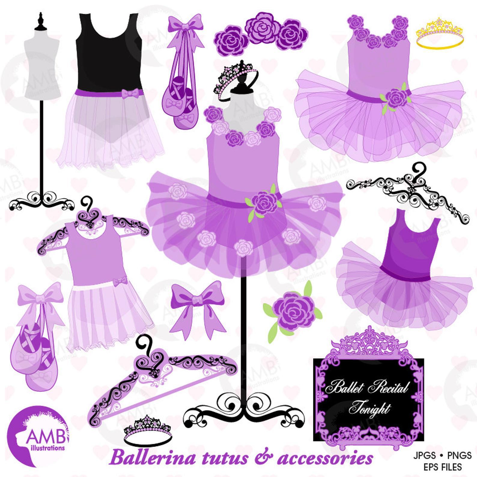 Ballet tutus lavender . Ballerina clipart ballerina dress