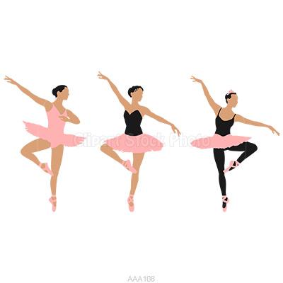 Silhouette at getdrawings com. Ballerina clipart ballet dancer
