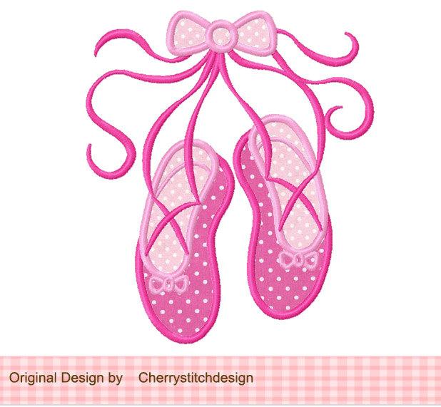 . Ballerina clipart ballet slipper