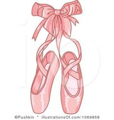 Shoes cartoon b slippers. Ballerina clipart ballet slipper