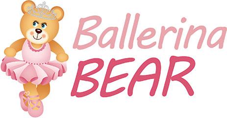 Bears clipart ballerina. Bear dancing dots classes