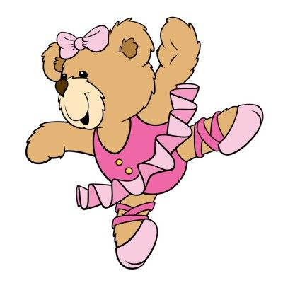 best dibujos de. Bears clipart ballerina