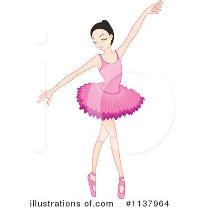 Ballerina clipart child. Illustration by graphics rf
