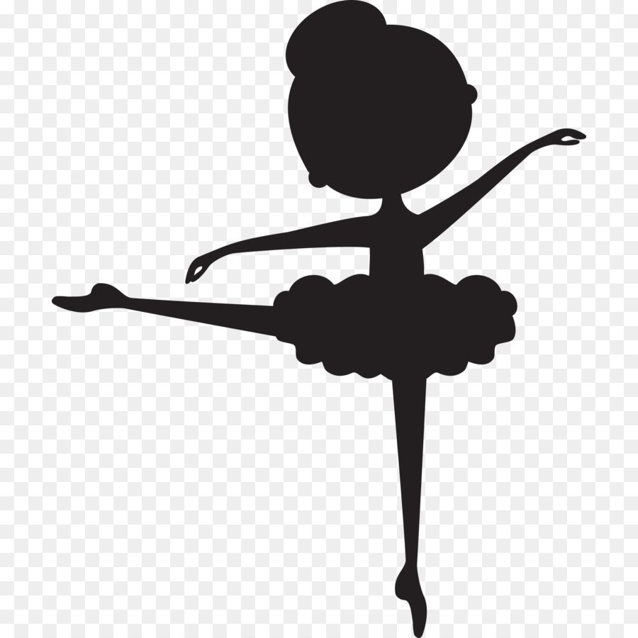Ballerina clipart child. Silhouette ballet dancer clip