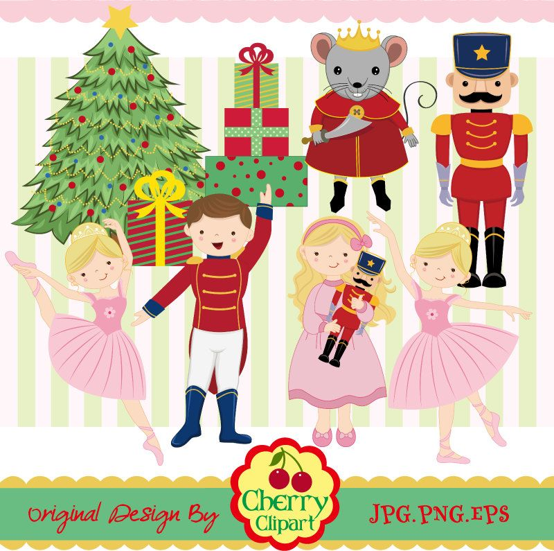 Free download nutcracker ballet. Ballerina clipart christmas