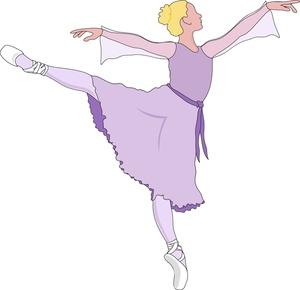 ballerina clipart graceful