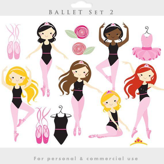 best ethnic illustrations. Ballerina clipart halloween