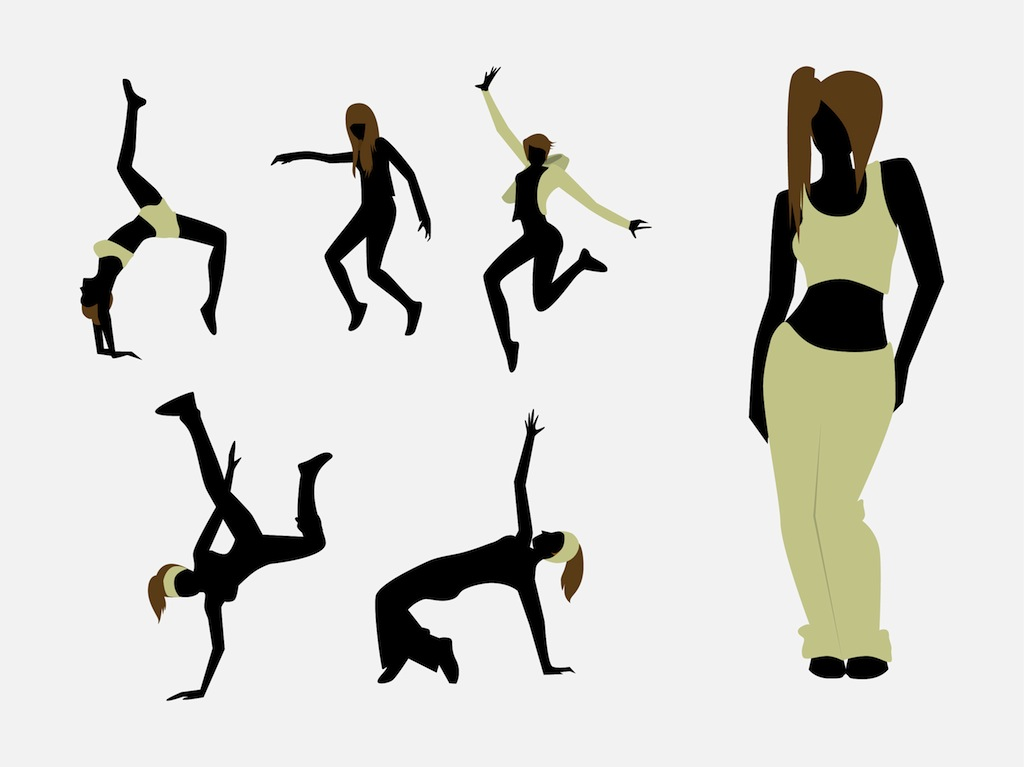 Girl silhouette at getdrawings. Ballerina clipart lady