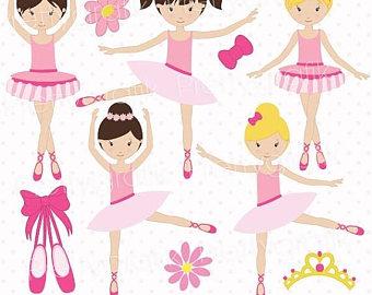 Ballet clip art etsy. Ballerina clipart lady