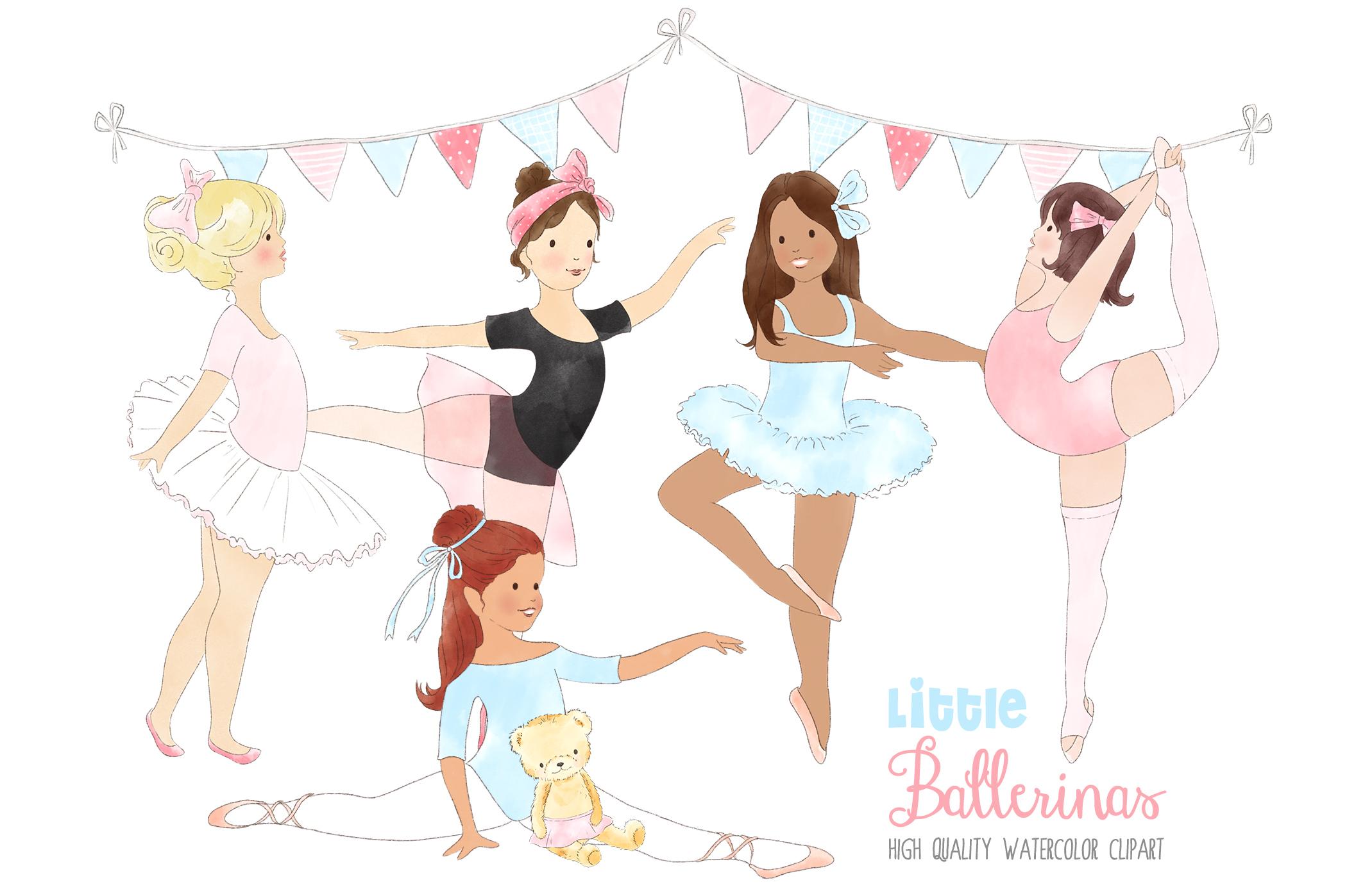 Ballerina clipart little girl. Ballerinas ballet dancing