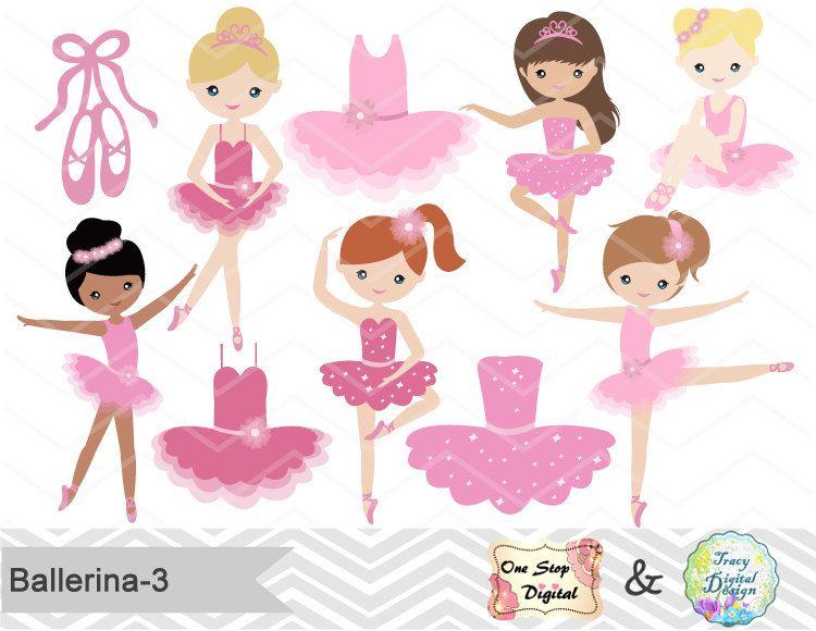 Ballerina clipart little girl.  awesome ballet clip