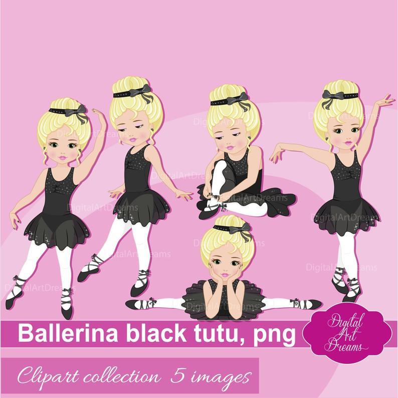 Girls clip art cute. Ballerina clipart little girl