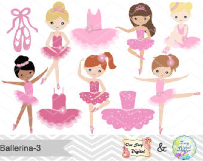 best bailarina images. Ballerina clipart pink ballerina
