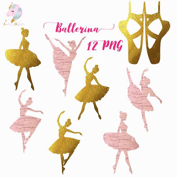 Silhouette ballet clip art. Ballerina clipart pink ballerina