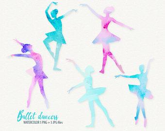 Ballerina clipart ribbon. Watercolor banners ribbons ballet