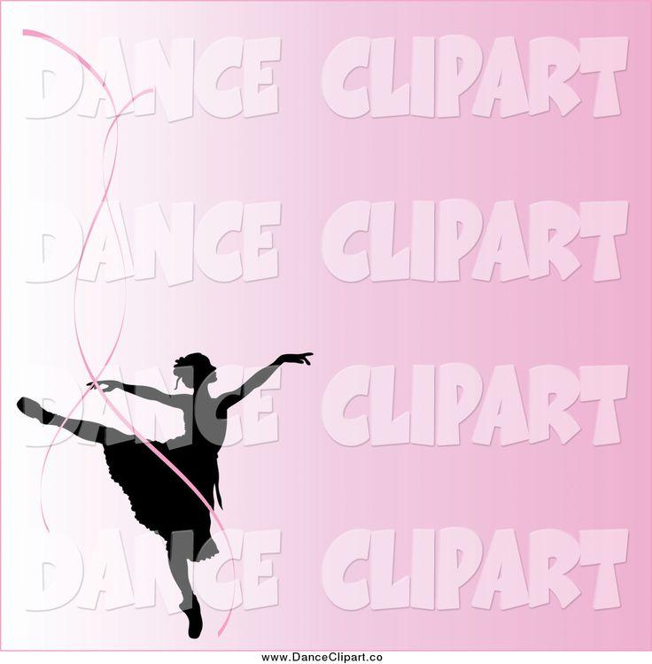 best dancing silhouette. Ballerina clipart ribbon