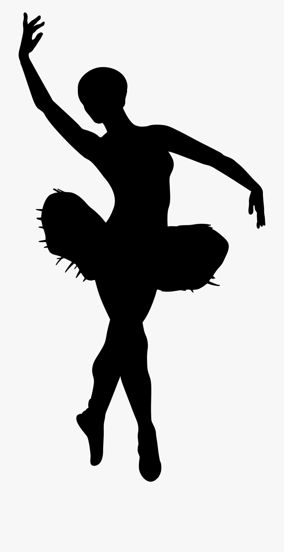 Transparent dancers . Ballet clipart silhouette