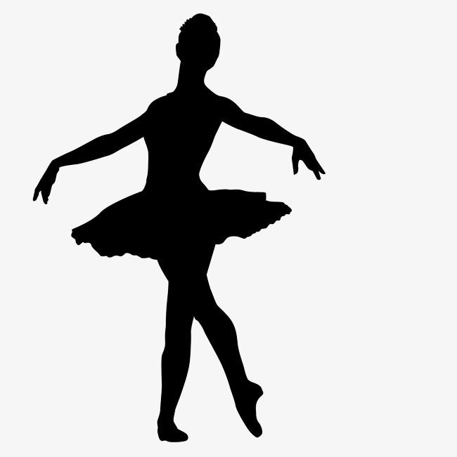Ballerina clipart shadow. Silhouette of ballet dancer