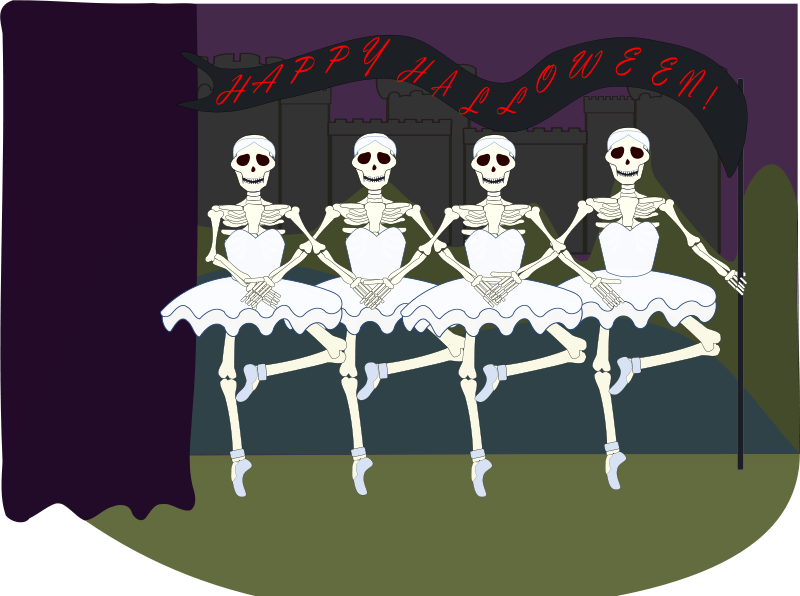 Bone clipart animated. Skeleton animations free halloween