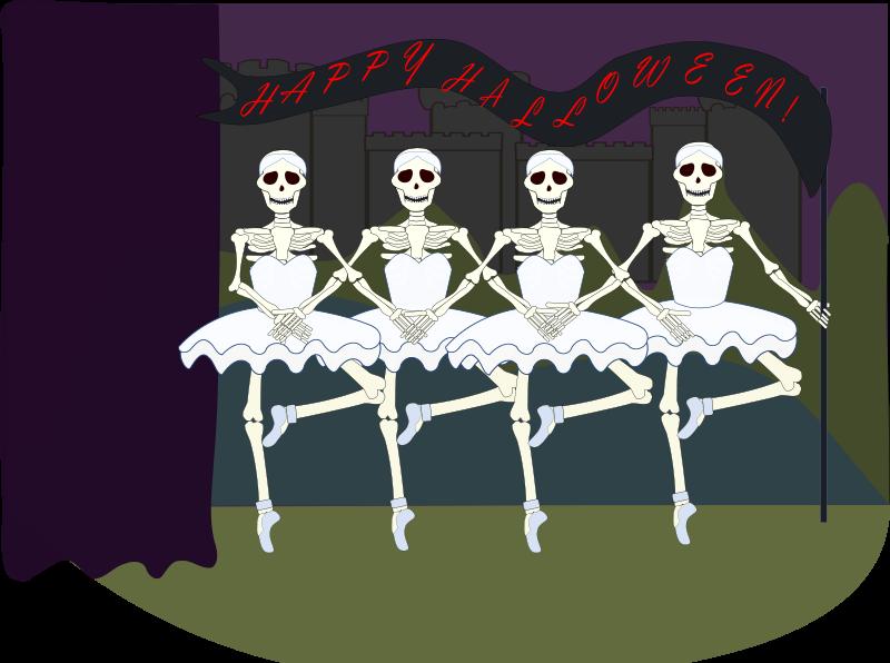 Bones clipart animated. Skeleton animations free halloween