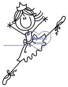 Ballerina clipart stick figure. Haha so cute apparently