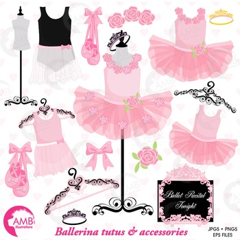 Tutu clipart file. Ballet ballerina pink floral
