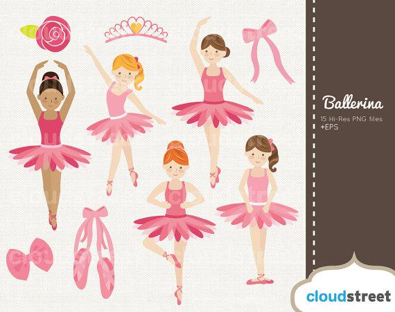 Ballerina clipart vector. Buy get free cute