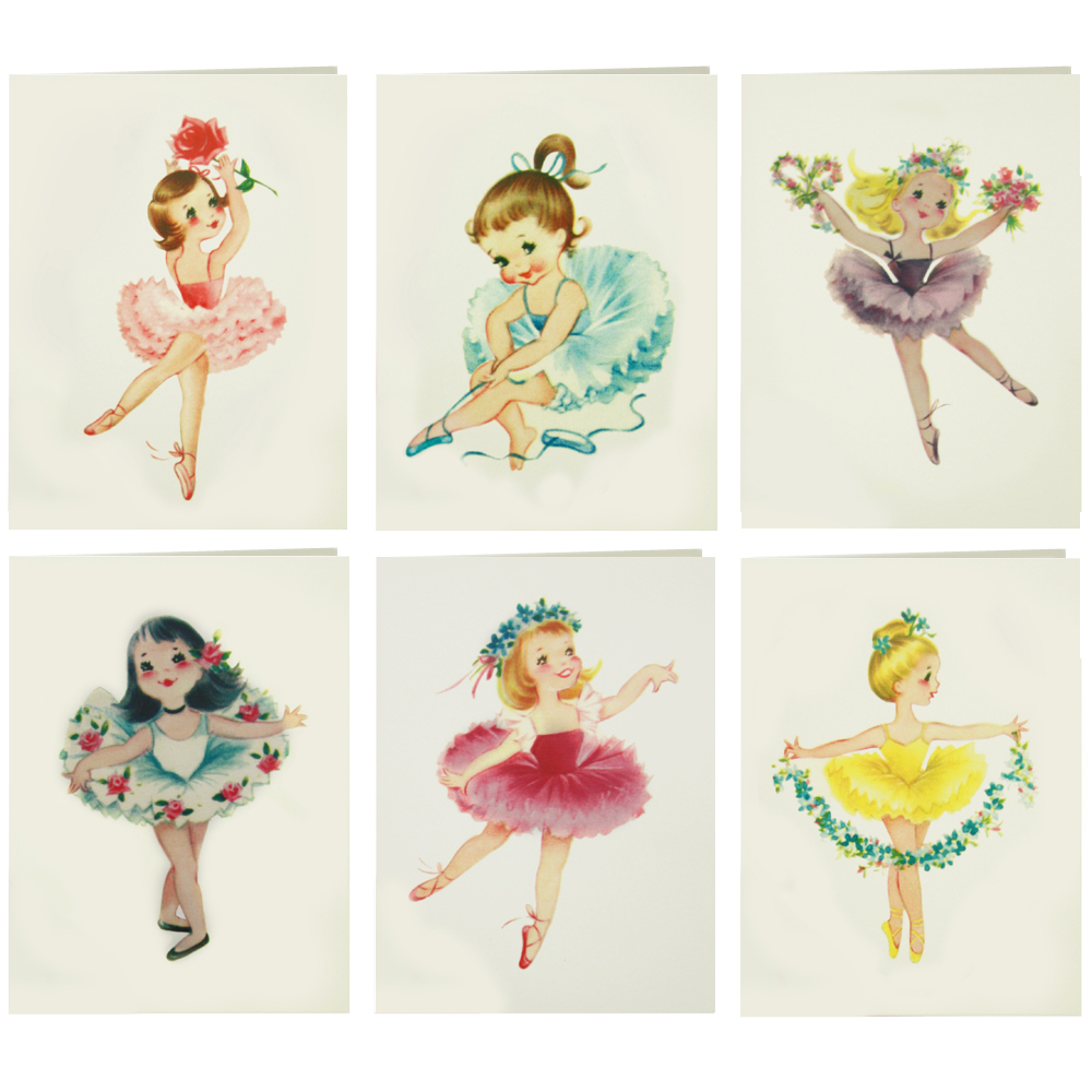 Dolls set of blank. Ballerina clipart vintage