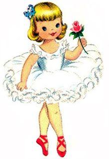 best diy printables. Ballerina clipart vintage