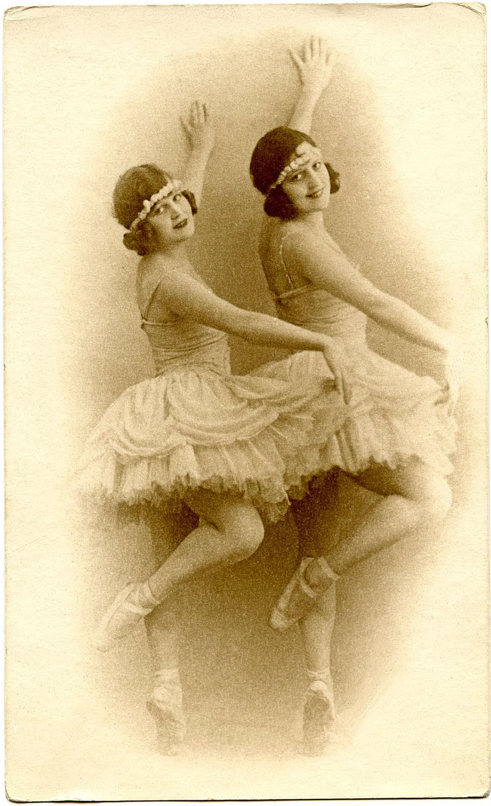 pictures clip art. Ballerina clipart vintage