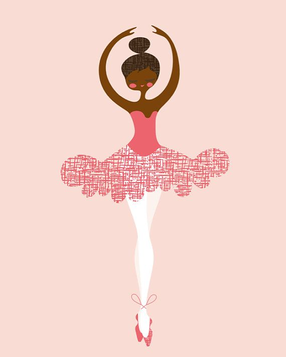 Artwork prints google search. Ballerina clipart african american ballerina